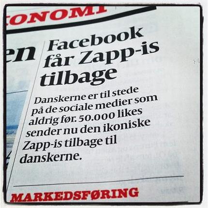 Frisko og facebook