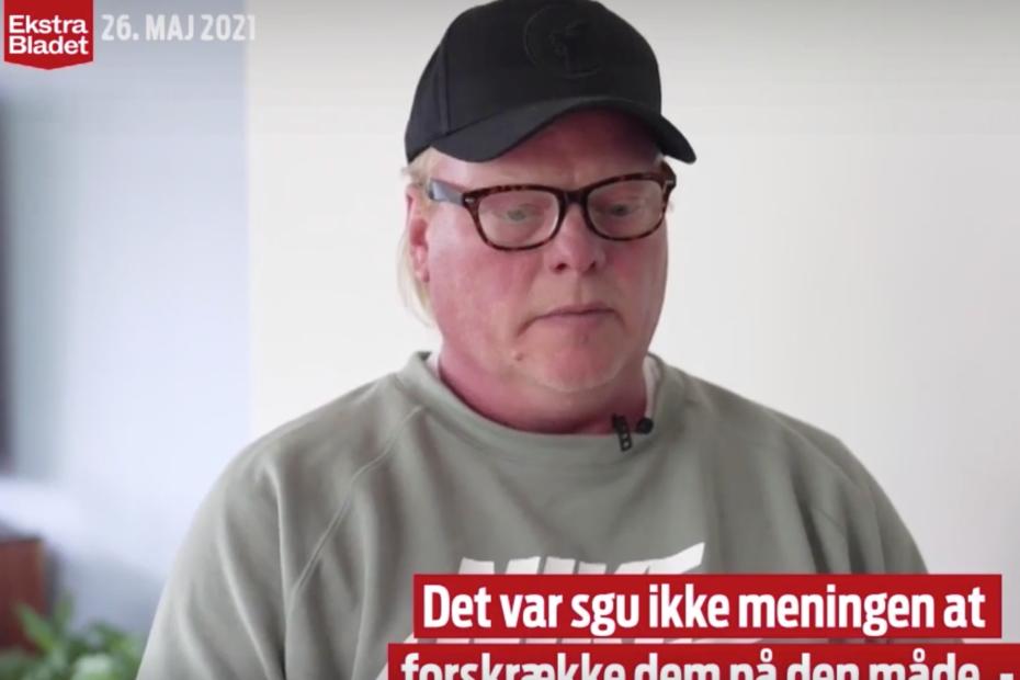 Lars siger undskyld